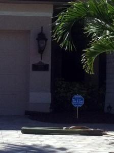 Poor Address Plaque Placement