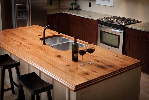 Reclaimed Wood Countertops we love reclaimed wood countertops! - metro iron | drapery medallions