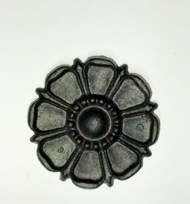 floral drapery medallion