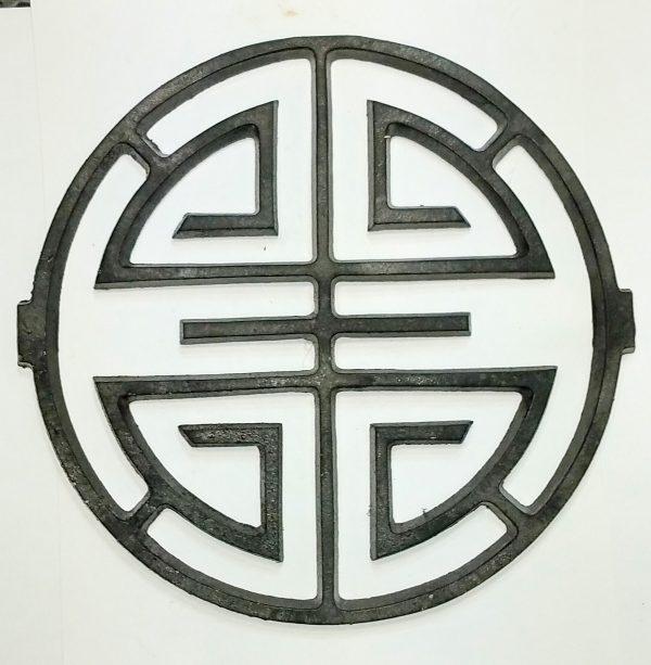 large drapery medallion